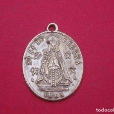 Antigüedades: MEDALLA SIGLO XIX VIRGEN DE BEGOÑA CONMEMORACIÓN 8 DE SEPTIEMBRE DE 1880.. Lote 197867051