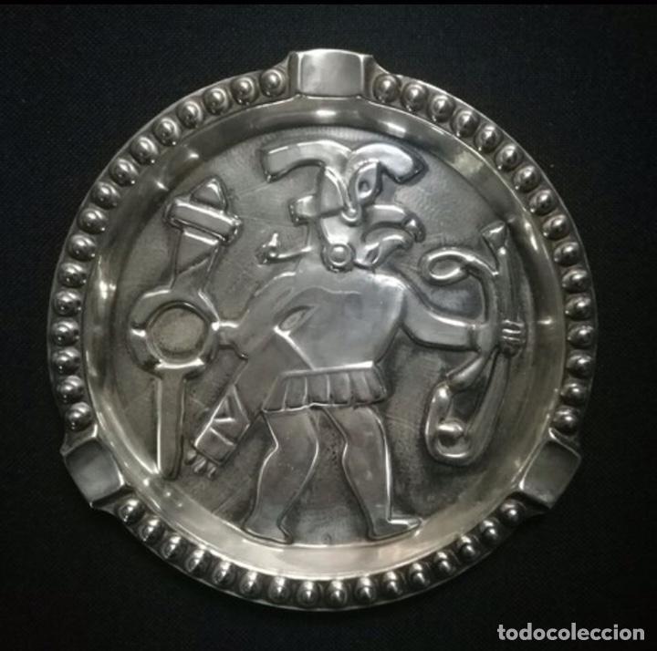 CENICERO MEXICO AÑOS 70. PLATA DE LEY (Antigüedades - Platería - Plata de Ley Antigua)