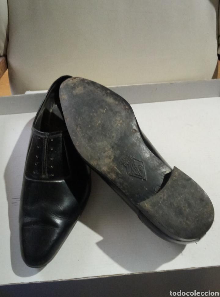 Antigüedades: Calzados Delfín Ourense zapatos caballero - Foto 3 - 197885417
