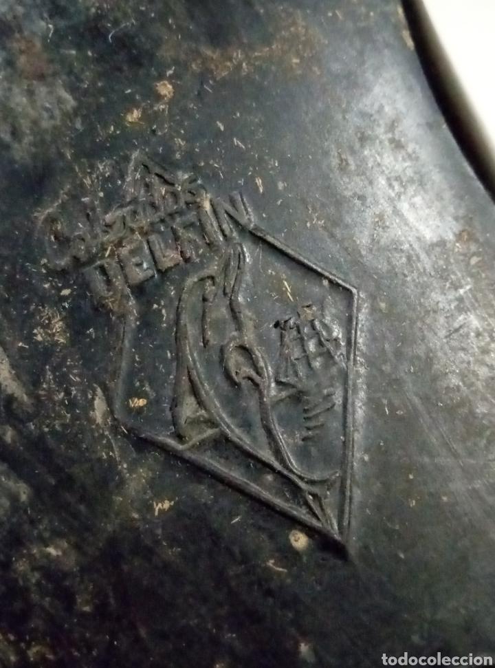 Antigüedades: Calzados Delfín Ourense zapatos caballero - Foto 4 - 197885417