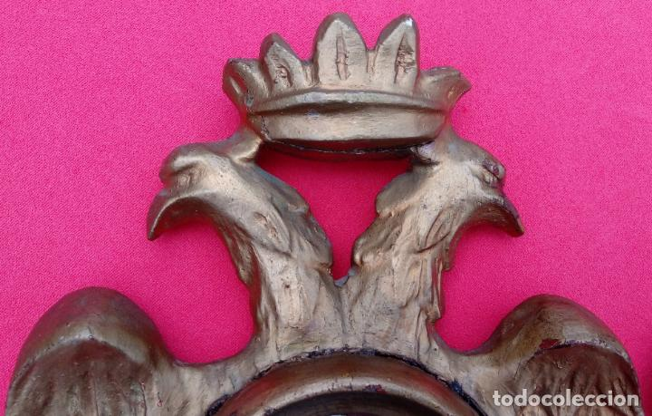 Antigüedades: PAREJA RELICARIOS SIGLO XVIII, CON RELIQUIAS DE SAN FRANCISCO SOLANO. DIM.- 25X18 CMS (BUEN TAMAÑO) - Foto 5 - 197942671