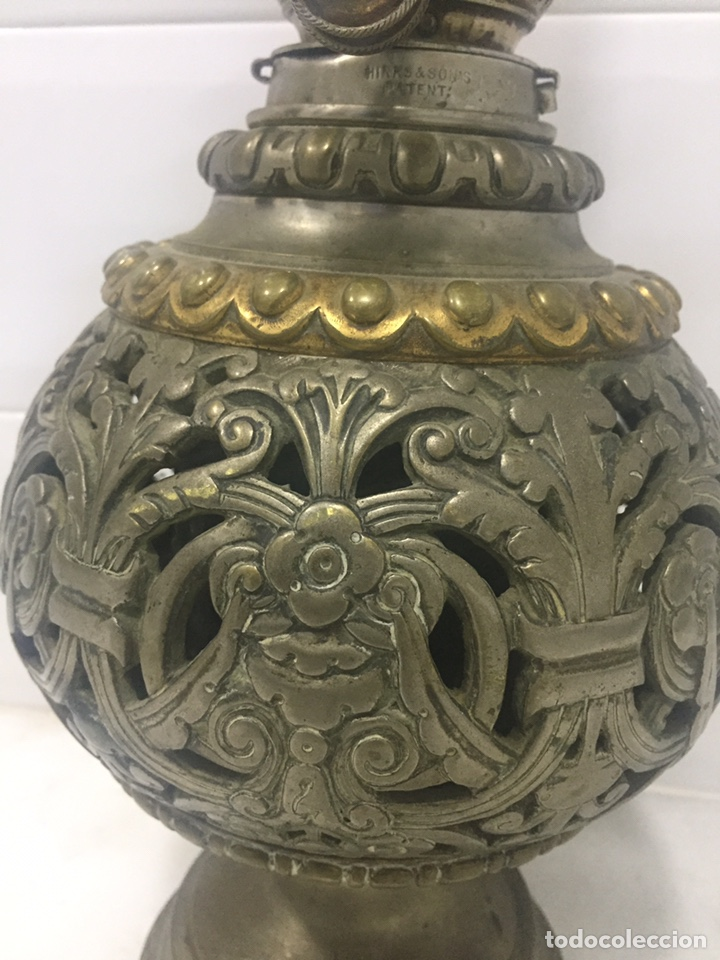 Antigüedades: ANTIGUO Y ESPECTACULAR QUINQUÉ FRANCÉS DE ACEITE SIGLO XIX - Foto 8 - 189211471