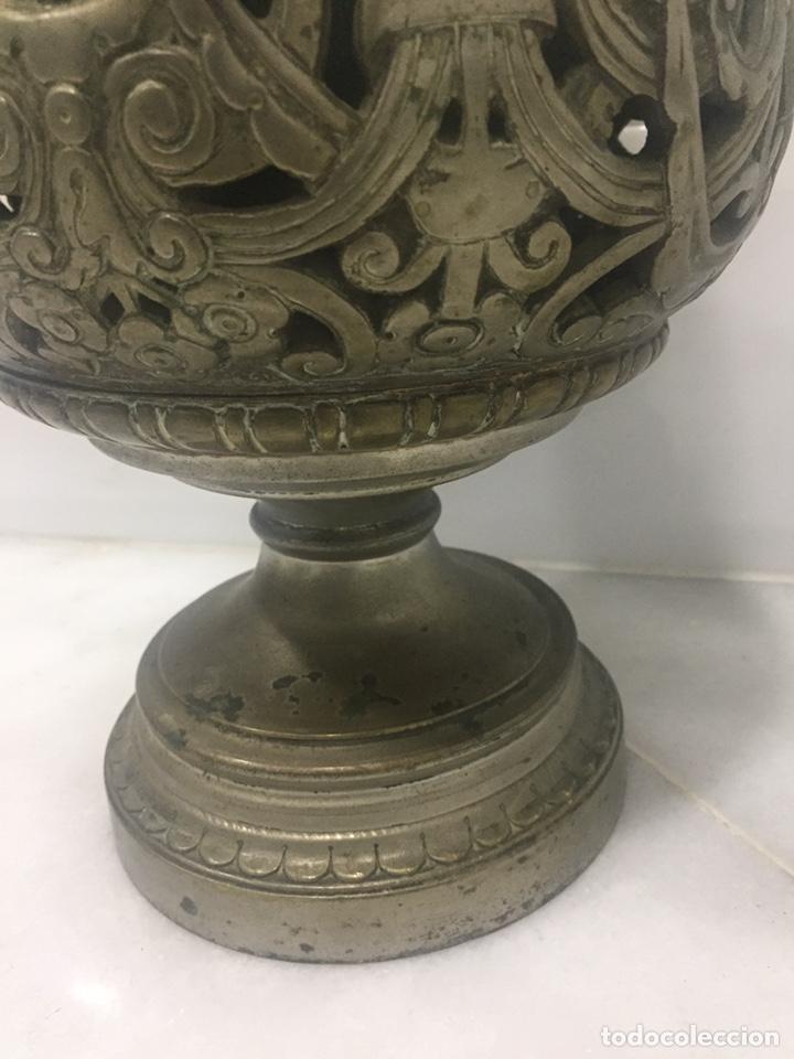 Antigüedades: ANTIGUO Y ESPECTACULAR QUINQUÉ FRANCÉS DE ACEITE SIGLO XIX - Foto 9 - 189211471