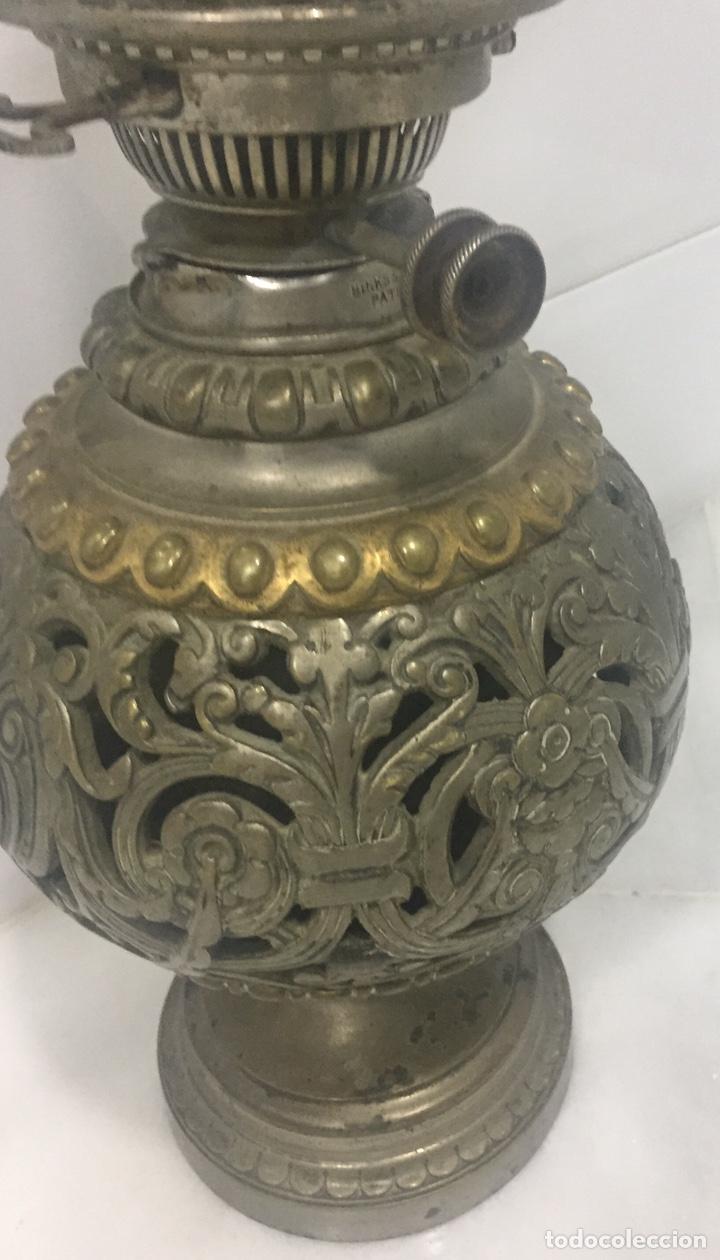 Antigüedades: ANTIGUO Y ESPECTACULAR QUINQUÉ FRANCÉS DE ACEITE SIGLO XIX - Foto 12 - 189211471