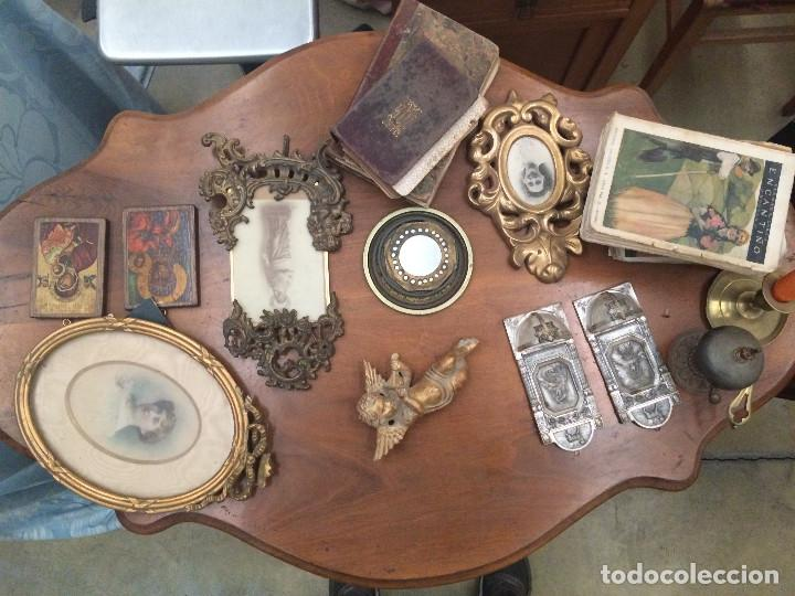 MUY DECORATIVA (Antigüedades - Muebles Antiguos - Mesas Antiguas)