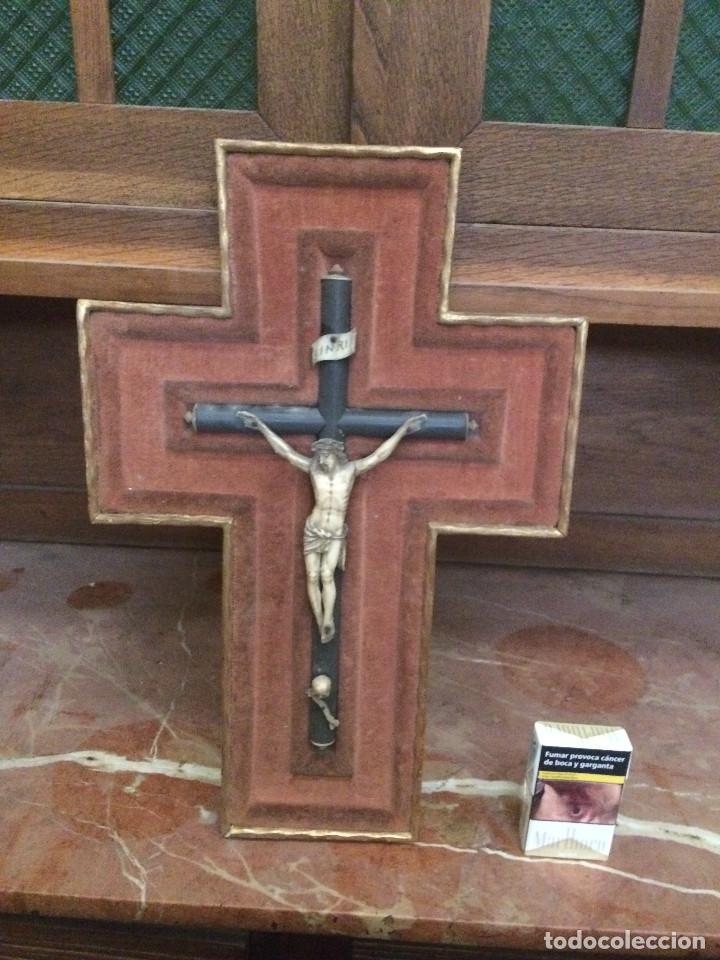 JESUS (Antigüedades - Religiosas - Crucifijos Antiguos)