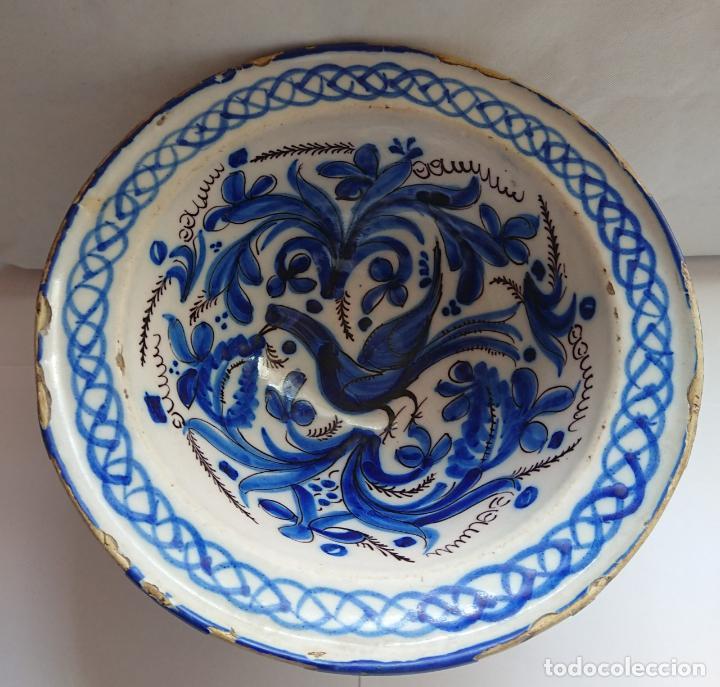 LEBRILLO CERAMICA DE MANISES. S. XIX (Antigüedades - Porcelanas y Cerámicas - Manises)