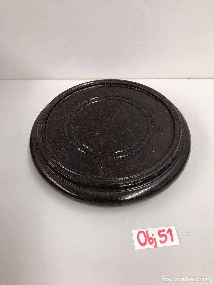 Antigüedades: Antiguo jarrón asiático con peana - Foto 4 - 198031868