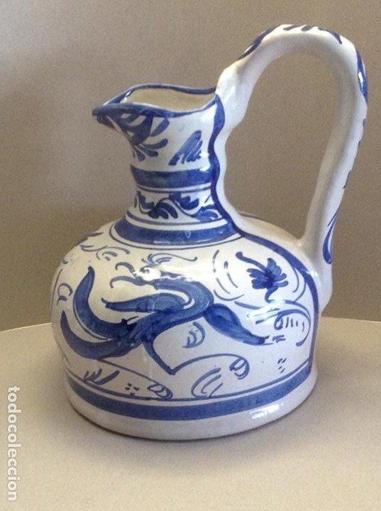 JARRA CERÁMICA PUNTER (Antigüedades - Porcelanas y Cerámicas - Teruel)