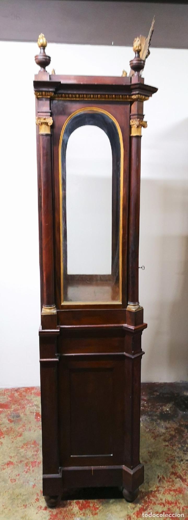 Antigüedades: CAPILLA PARA IMAGEN O VITRINA. MADERA DE CAOBA. ESTILO IMPERIO. ESPAÑA. PRINCIPIOS SIGLO XIX. - Foto 17 - 198116480