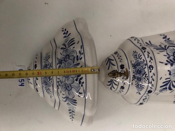 Antigüedades: Benditera en porcelana principio de siglo - Foto 4 - 198140863