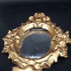 Antigüedades: ESPEJO CURNOCOPIA PEQUEÑO . Lote 198142311