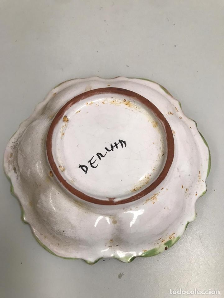 Antigüedades: Plato de porcelana antigua - Foto 3 - 198205460