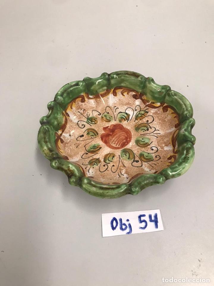 PLATO DE PORCELANA ANTIGUA (Antigüedades - Porcelanas y Cerámicas - Puente del Arzobispo )
