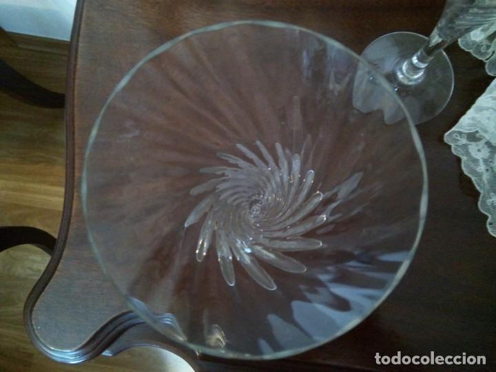 Antigüedades: * COPAS DE CAVA. CRISTAL SONORO (Rf:G/*) - Foto 2 - 198216388