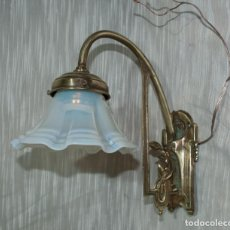 Antigüedades: BELLO APLIQUE MODERNISTA , C.1900. Lote 198250220