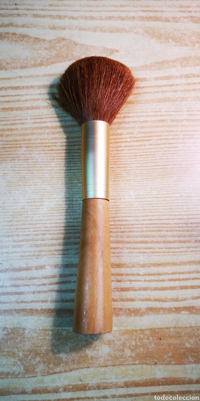 Antigüedades: Brocha pincel grueso de maquillaje por estrenar - Foto 2 - 198291230