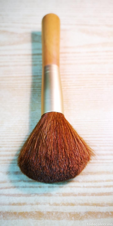 Antigüedades: Brocha pincel grueso de maquillaje por estrenar - Foto 4 - 198291230