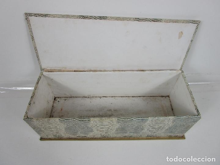 Antigüedades: Lote de Abanicos - Hueso, Oriental Madera, etc - Caja y Estuche para Abanicos - para Restauración - Foto 20 - 198333237