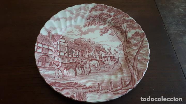 PLATO ROYAL MAIL (Antigüedades - Porcelanas y Cerámicas - Inglesa, Bristol y Otros)
