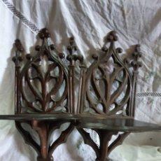 Antigüedades: PEANAS DE MADERA. Lote 198341645