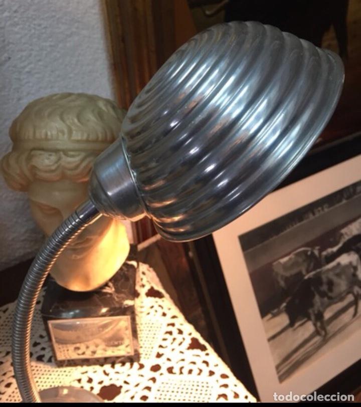 Antigüedades: Lámpara Flexo Industrial - Foto 4 - 198375188