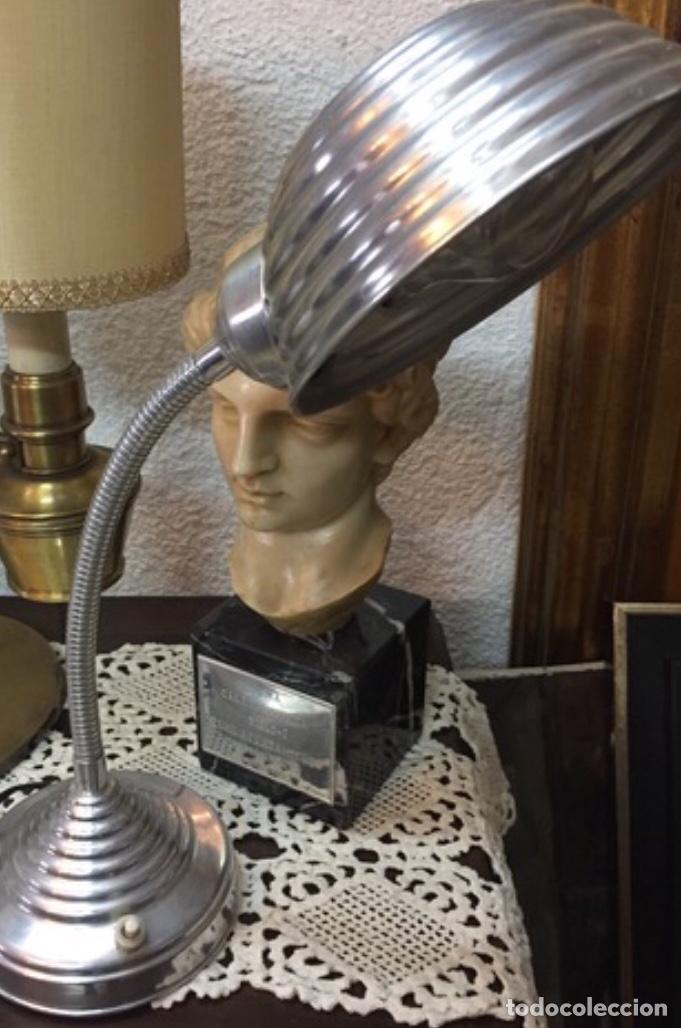 Antigüedades: Lámpara Flexo Industrial - Foto 6 - 198375188