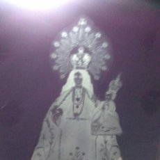 Antigüedades: FOTOGRAFIA ANTIGUA DE CRISTAL VIRGEN DE LA CABEZA CUENCA. Lote 198396682
