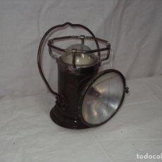 Antigüedades: MUY RARA LINTERNA O LAMPARA PORTATIL. Lote 198403633