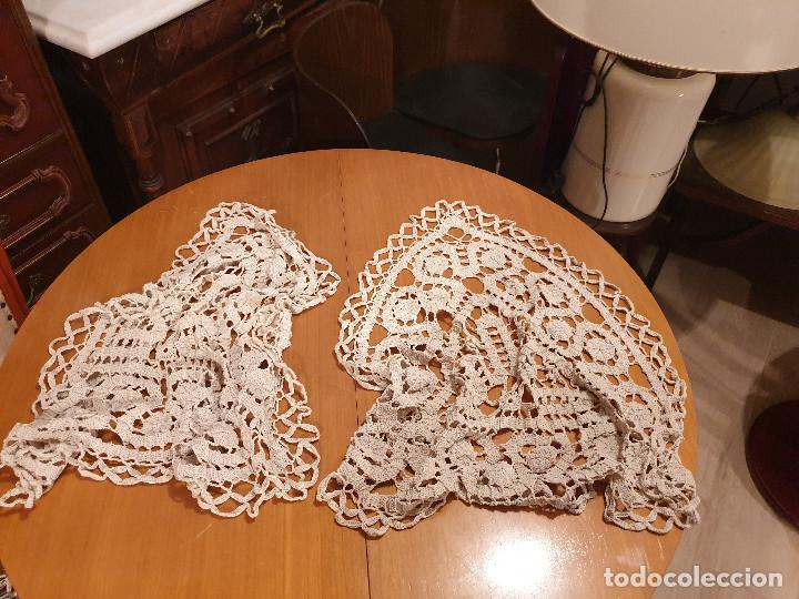 Antigüedades: TAPETE ANTIGUO lote 2 piezas - Foto 13 - 198408871