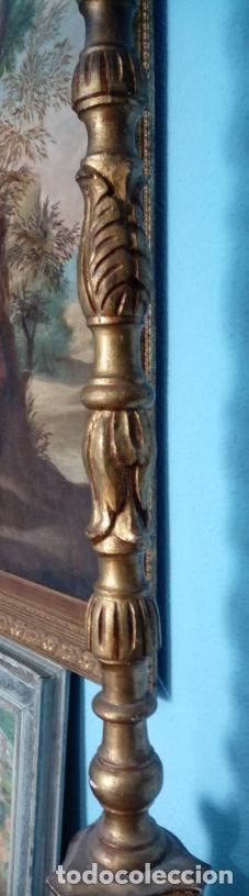 Antigüedades: HACHERO DE MADERA S. XVIII, EN FUNCIONAMIENTO LUZ ELÉCTRICA. 150 CMS ALTURA (BUEN TAMAÑO). - Foto 10 - 198412233