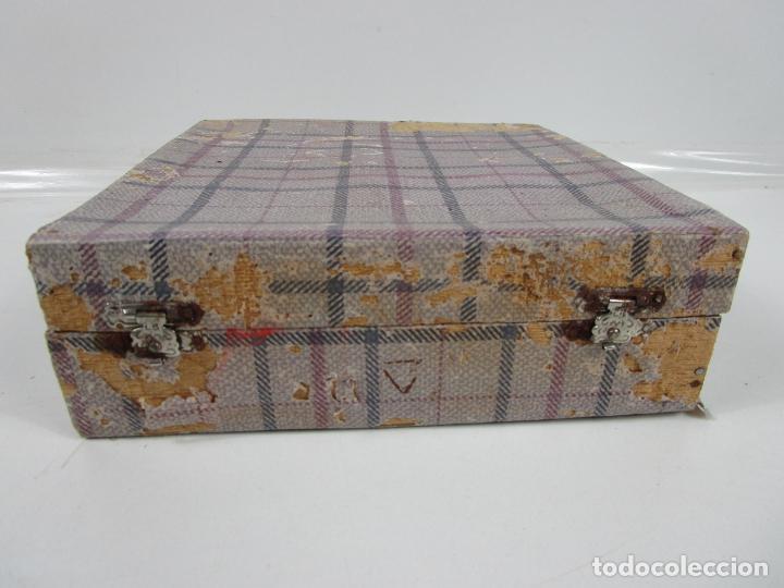 Antigüedades: Decorativas Copas de Onix - con Estuche - Altura Copa 8 cm - Foto 12 - 198460548