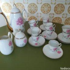 Antigüedades: JUEGO DE CAFÉ. Lote 198461450