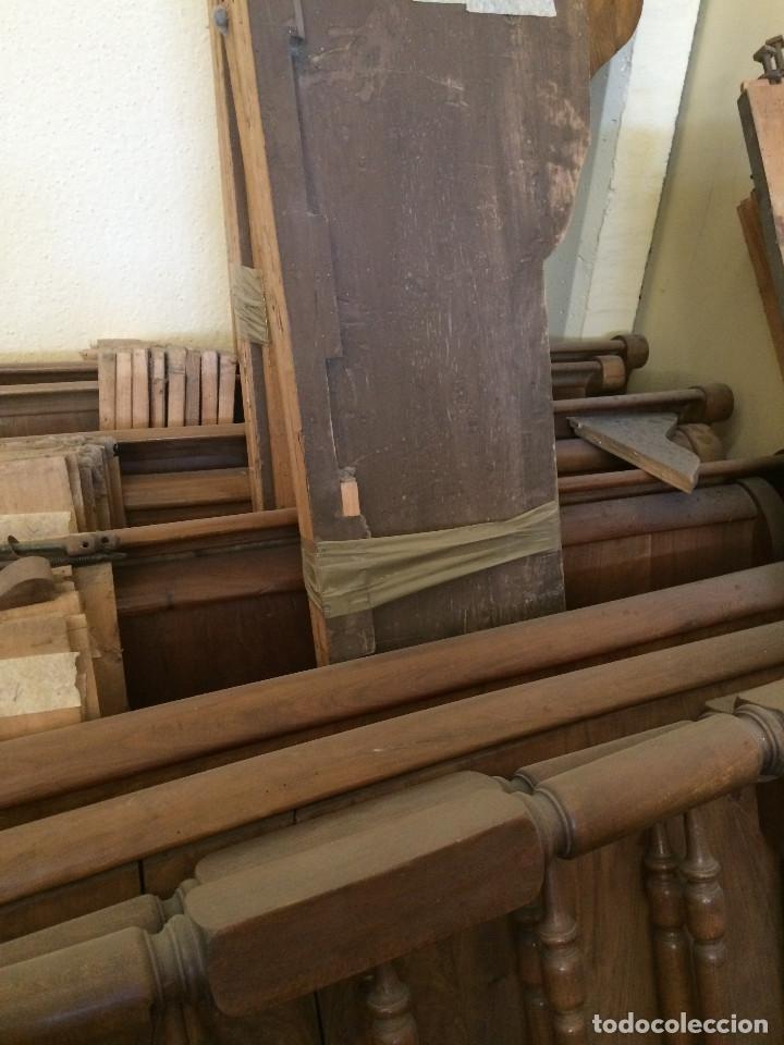 Antigüedades: CONJUNTO COMPLETI CINCO CAMAS - Foto 3 - 198503833