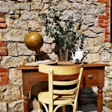 Antigüedades: ESCRITORIO FRANCÉS ANTIGUO. Lote 198534947
