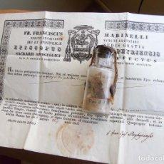 Antigüedades: SOBERBIO RELICARIO DE SAN VICENTE FERRER (1350-1419). Lote 198569488