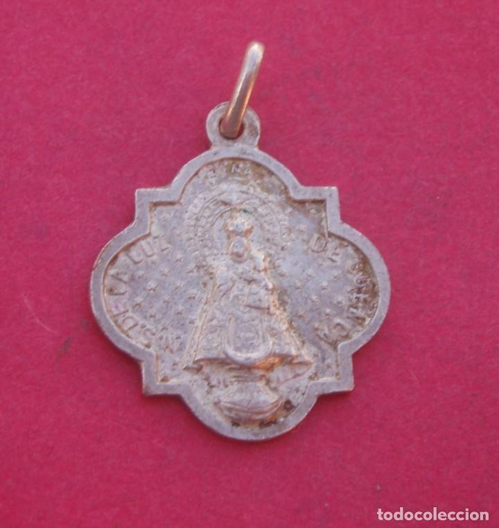 MEDALLA CORONACIÓN VIRGEN DE LA LUZ AÑO 1950. CUENCA. (Antigüedades - Religiosas - Medallas Antiguas)