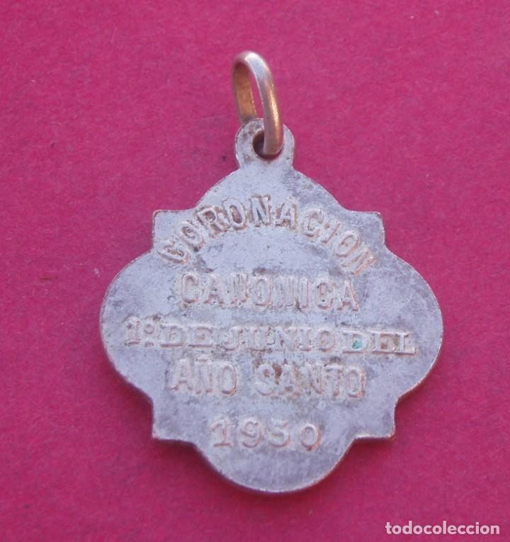 Antigüedades: Medalla Coronación Virgen de la Luz Año 1950. Cuenca. - Foto 2 - 198573215