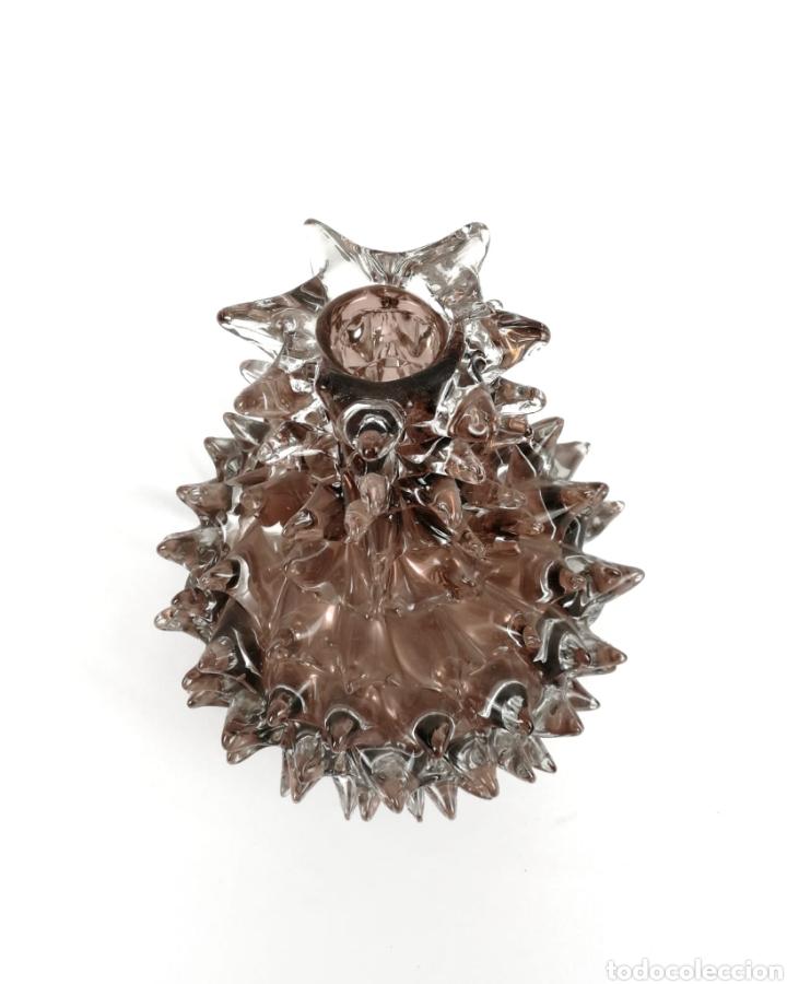 Antigüedades: Florero rostrato de cristal de murano - Foto 2 - 198729755