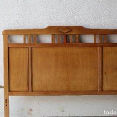 Antigüedades: CABECERO DE CAMA PROVENZAL. Lote 198770560