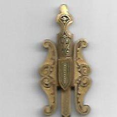 Antigüedades: ESPADA,AGUJA DE SOMBRERO EN DAMASQUINADO. Lote 198812071