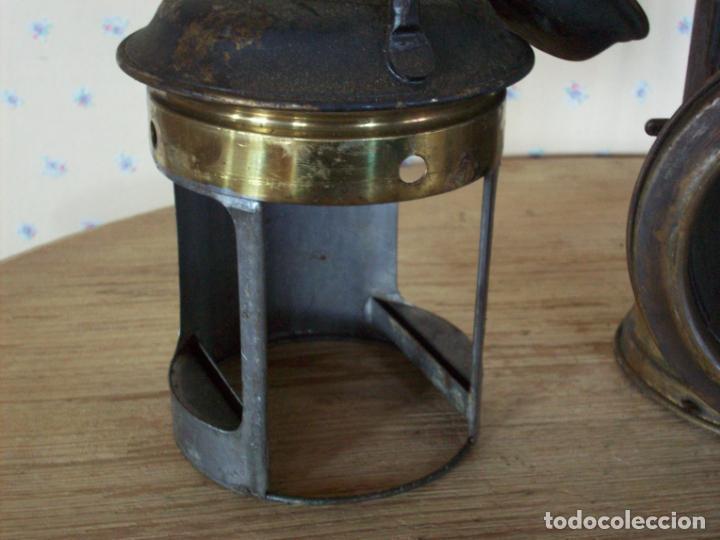Antigüedades: FAROL FERROVIARIO ANTIGUO DE LOCOMOTORA - Foto 15 - 198823526