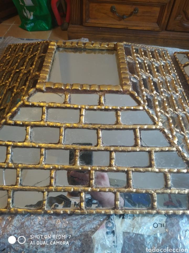 Antigüedades: Espejo piramidal - Foto 2 - 198857355