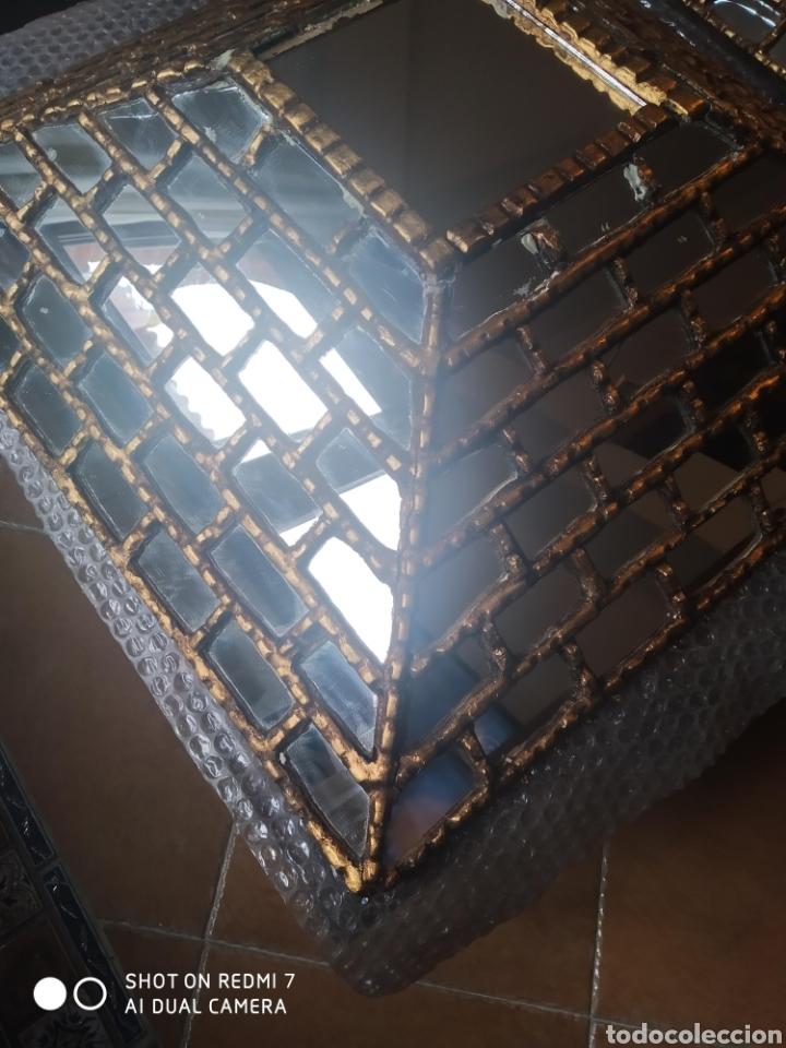 Antigüedades: Espejo piramidal - Foto 4 - 198857355