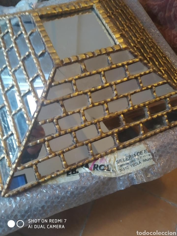 Antigüedades: Espejo piramidal - Foto 7 - 198857355