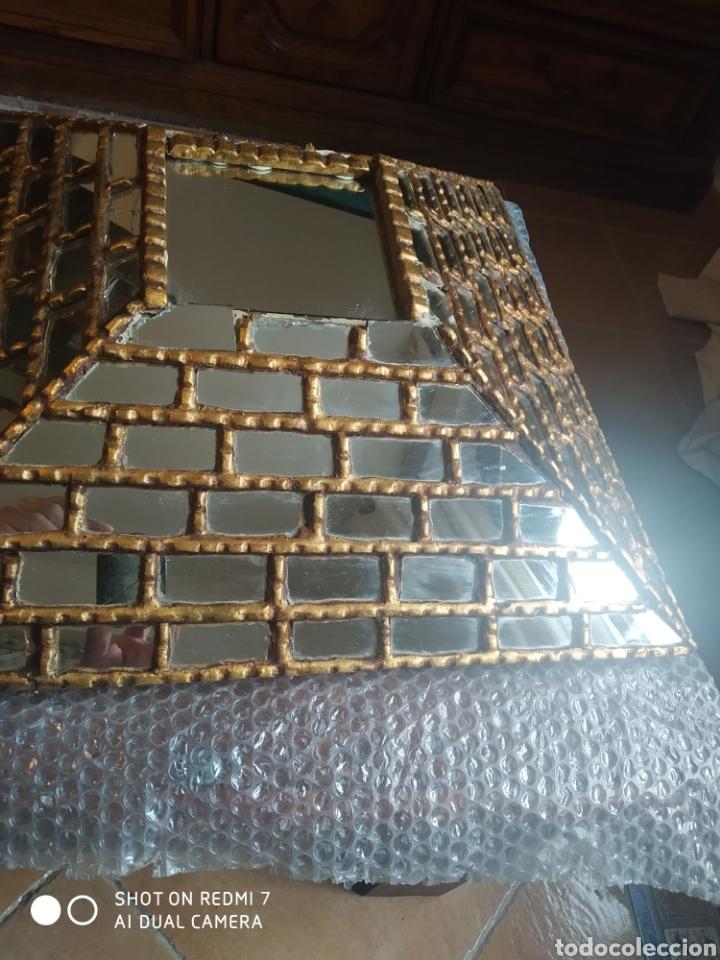 Antigüedades: Espejo piramidal - Foto 8 - 198857355