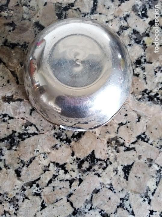 Antigüedades: Cuenco centro de plata maciza de ley 925 - Foto 3 - 198915801