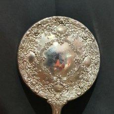 Antiquités: ESPEJO PLATEADO TOCADOR. Lote 198957407