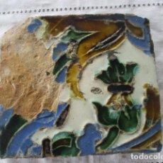 Antigüedades: AZULEJO Nº 10 SIGLO XVI (TRIANA). Lote 198977232
