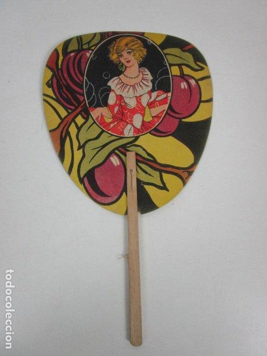Antigüedades: Pay Pay Art Decó -Abanicos Publicidad Pastes Alimenticies i Forn de Pa, Josefa Coromines, Granollers - Foto 6 - 198979952